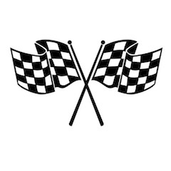rc001b large checkered race flag blk 1000a